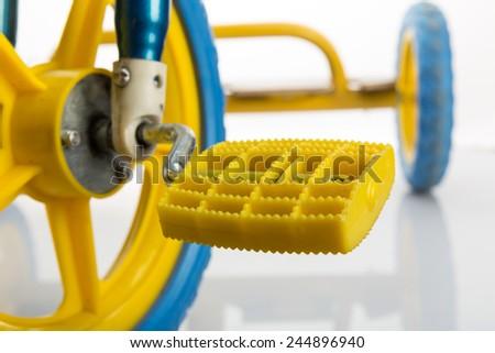 Kids bicycle - stock photo