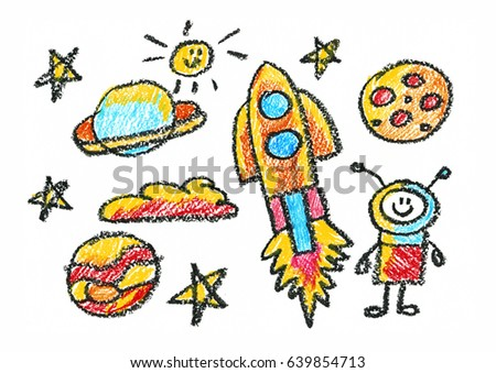 kids drawing space children education school kindergarten play study learn boys and girls - Drawing Pictures For Children