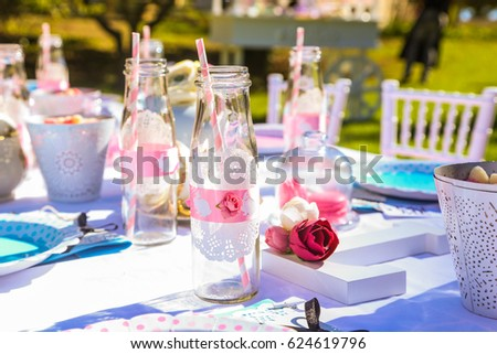 Kids Garden Party Table Setting : table setting for kids - pezcame.com