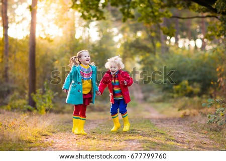 Jumping In Leaves Stock Images, Royalty-Free Images ...