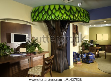 Kids Play Room Bedroom - stock photo