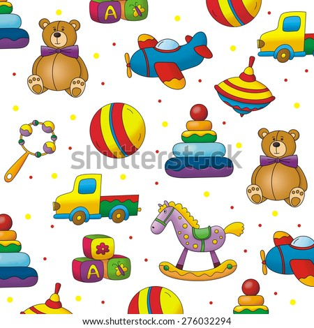 kids toy pattern