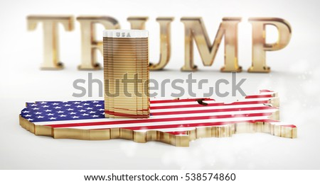 Trump Building Stock Images RoyaltyFree Images Vectors - Trump towers in the us map