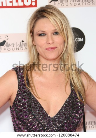 Kiera Chaplin arriving at the The Amy Winehouse foundation ball held at the Dorchester hotel, London. 20/11/2012 Picture by: Henry Harris - stock photo