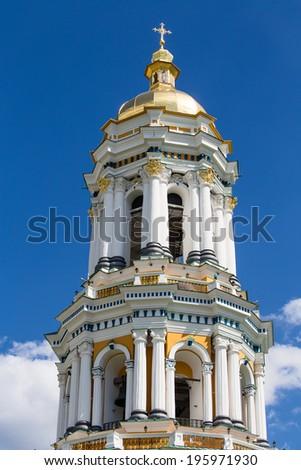 Kiev Pechersk Lavra or Kyiv Pechersk Lavra ( Kyievo-Pechers'ka lavra ) - stock photo