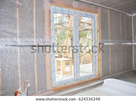 Insulation stock images royalty free images vectors for Wool wall insulation