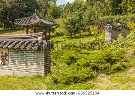 pavilion royal garden stock images, royalty-free images & vectors