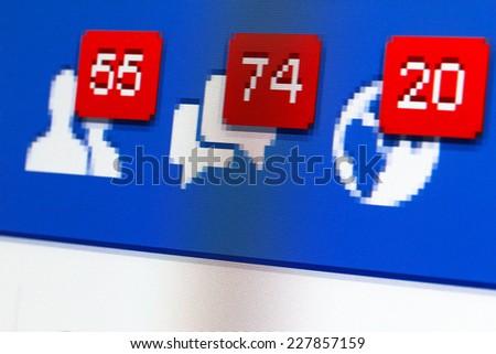 kiev ukraine october 29 facebook web stock photo edit now