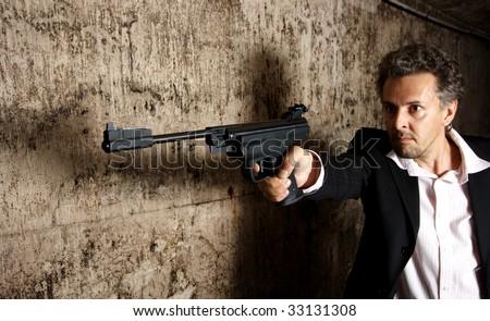 killer - stock photo