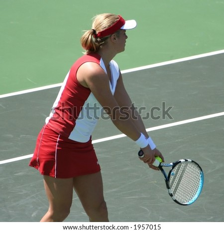 Kim Clijsters - stock photo