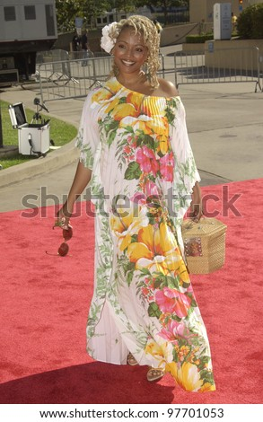 KIM FIELDS at the 9th Annual Soul Train Lady of Soul Awards in Pasadena, CA. Aug 23, 2003  Paul Smith / Featureflash