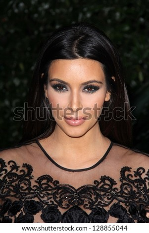 Kim Kardashian at the Topshop Topman LA Opening Party, Cecconis, West Hollywood, CA 02-13-13 - stock photo