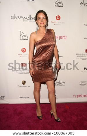 Kimberly Williams at the 6th Annual Pink Party, W Hotel, Hollywood, CA. 09-25-10