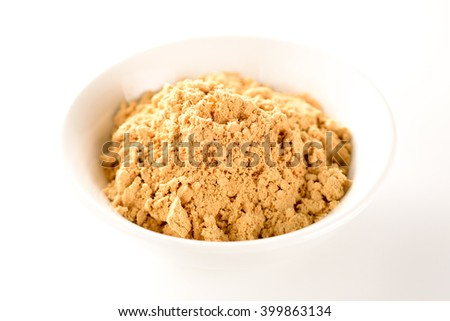 kinako, Toasted soybean flour - stock photo