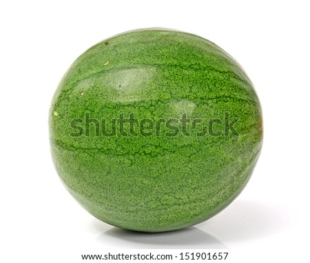kind of watermelon on a white background