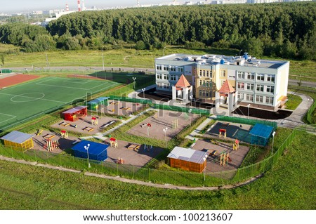 Elementary school building stock images royalty free images vectors shutterstock for Find a builder in your area