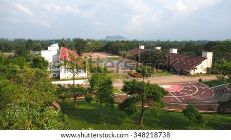 King Mongkut's Institute of Technology Ladkrabang Prince of Chumphon Campus) - stock photo