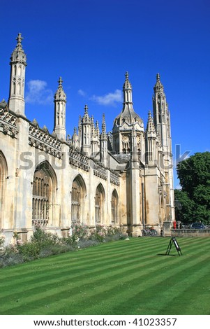 King's college chapel - stock photo