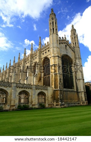 King's College Chapel of Cambridge