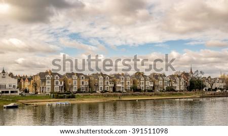Kingston upon Thames - stock photo