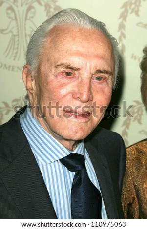 Kirk Douglas at the Women's Guild 50th Anniversary Fundraising Gala. Beverly Wilshire Hotel, Beverly Hills, CA. 09-15-07