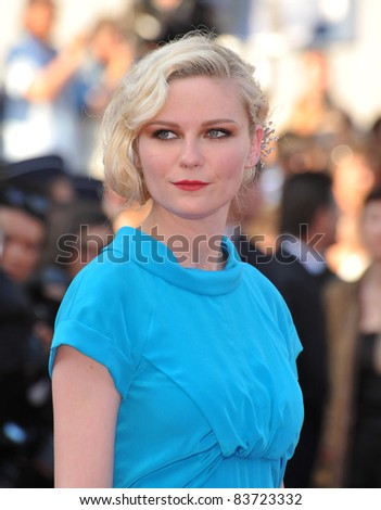 Kirsten Dunst at the closing Awards Gala at the 63rd Festival de Cannes. May 23, 2010  Cannes, France Picture: Paul Smith / Featureflash - stock photo