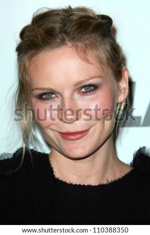 Kirsten Dunst at the 2007 Glamour Reel Moments Party. Directors Guild Of America, Los Angeles, CA. 10-09-07