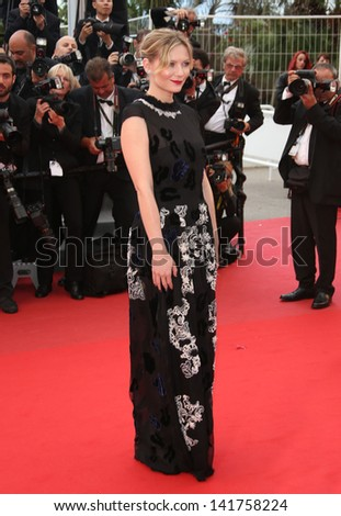 Kirsten Dunst at the 66th Cannes Film Festival - Inside Llewyn Davis Premiere, Cannes, France. 19/05/2013 - stock photo