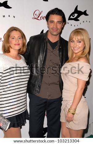 Kirsten Lea, Gilles Marini and Hayden Panettiere  at a Benefit for The Whaleman Foundation, Beso, Hollywood, CA. 11-15-09