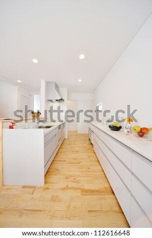 Kitchen-5-1 - stock photo