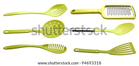 Kitchen accesories - stock photo