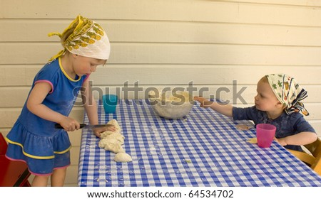 Kitchen accidents about to happen - stock photo