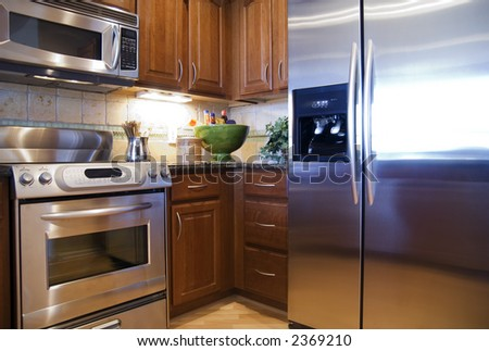 Kitchen Appliances - stock photo