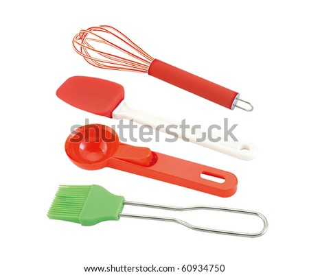 Kitchen Baking Utensils - stock photo