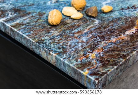 Kitchen Counter Close Up granite countertop stock images, royalty-free images & vectors