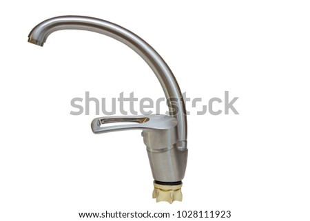 kitchen faucet isolated