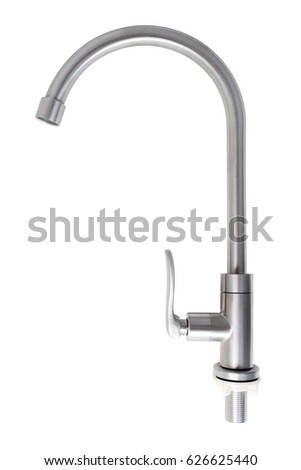 kitchen faucet with clipping path