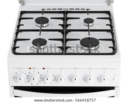 Kitchen Gas Stove gas stove isolated stock images, royalty-free images & vectors
