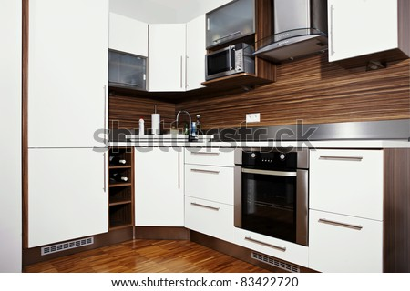 Kitchen in city home