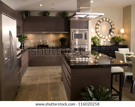 Kitchen Interior Design Architecture Stock ImagesPhotos Of Living Room BathroomKitchen