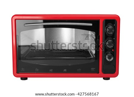 Kitchen oven isolated on a white background