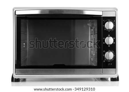 Kitchen oven, isolated on white
