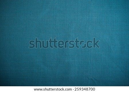 Kitchen retro linen table cloth background template - stock photo