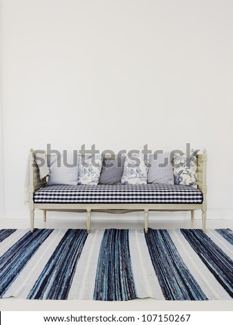 Kitchen sofa, Sweden.