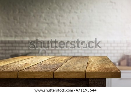 Kitchen Table Background Beauteous Kitchen Table Background Stock Photo 471195644  Shutterstock Review