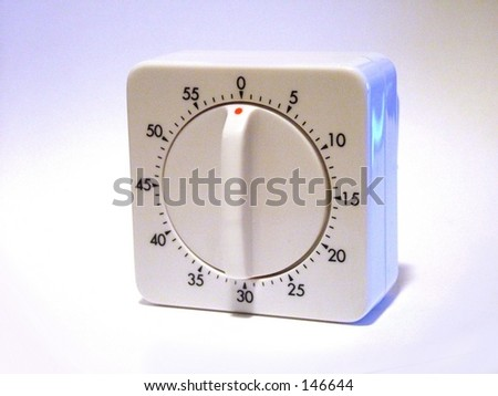 Kitchen Timer - stock photo