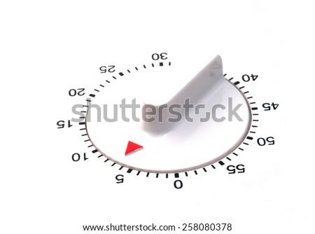kitchen timer set detail      - stock photo