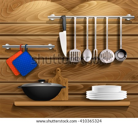 Kitchen Tools Professional Stock Images Royalty Free