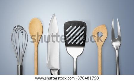 Kitchen Utensil. - stock photo