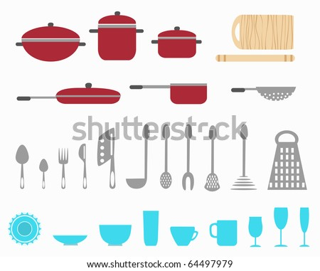 kitchen utensils.raster